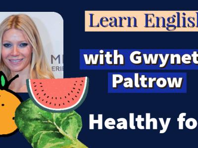 Gwyneth Paltrow photo, orange, watermelon, leafy greens