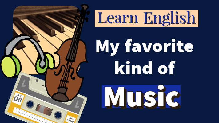 Piano keys, headphones, violin, cassette